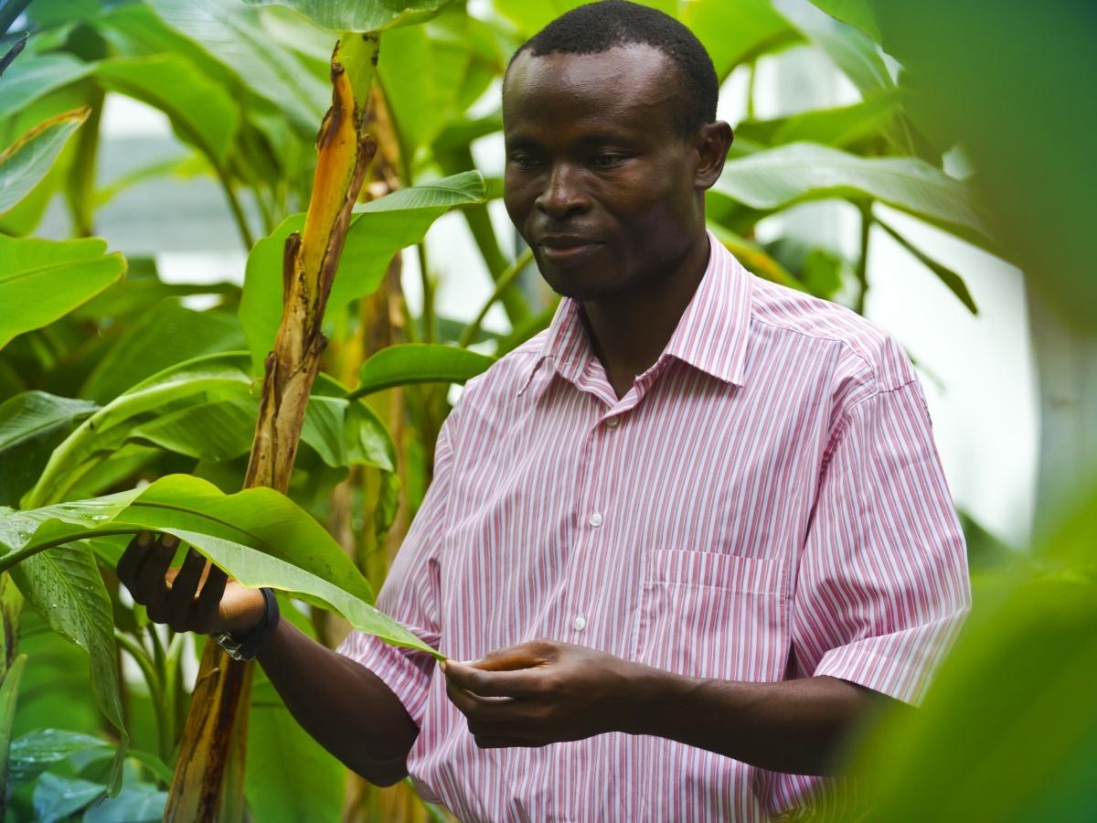 Doktorand z ugandy z skal b hem studia v olomouci d le it for Biologie studium nc